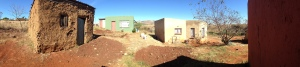 Panoramic view of our home