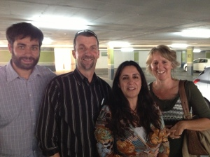 Us with Tony and Maria Verlaan from New Tribes Mission