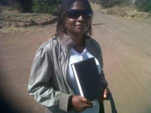 Khethiwe gets her bible