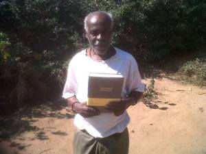 Mkhulu gets his large print bible