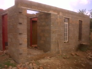 Gogo's house extension.