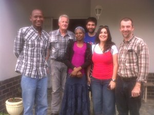 Meeting with Tony and Maria from New Tribes Mission