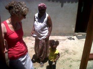 Babhekile's Mother and Noluncedo.