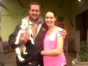 Our Friends Jed and Jenna from Kokstad