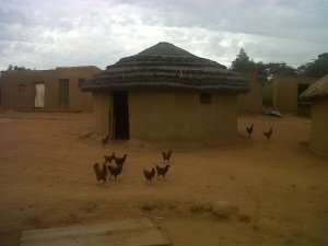 The homstead where Sicelo Creche is run