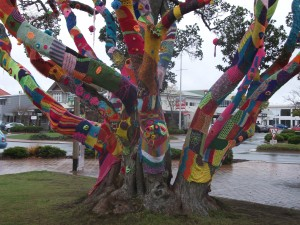 Decorated Tree, Art in Rotorua