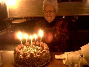 Di's mum's birthday