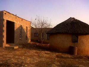 This is Phumlani's homestead