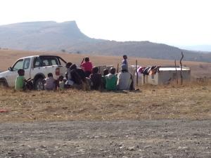 Phumlani witnessing in Cibili