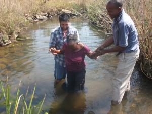 Baptising Mkhulu's Wife