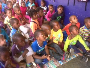 Kids at Joyland Creche