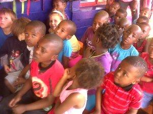 Kids love the singing at Joyland