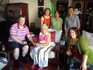 Lionel and Suzanne Letcher Visit Salvador's Grandmother in China