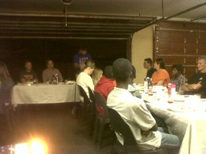 Salvador teaching the Passover in Boksburg