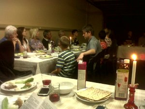 People at the Passover