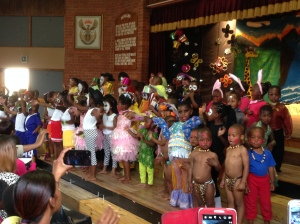 Joyland creche end of year concert.