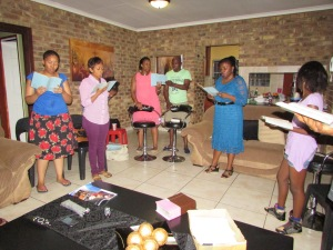 Worship at Kingsley's in Pretoria