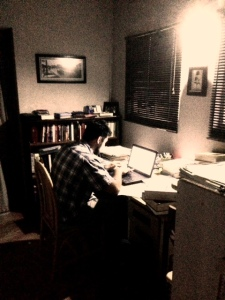 Salvador studying