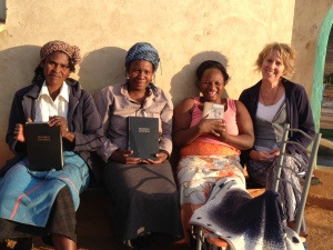 Phumlani's Bible Study Group at KwaBhekephi.