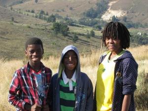 Luke, Baden and Ntombi