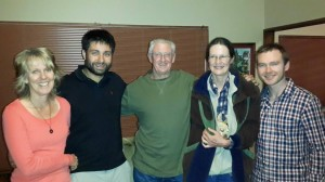 With Chris and Linda De Wet and Melnick Smith