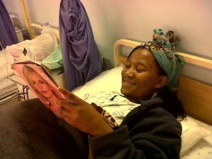 Zanele in Hospital