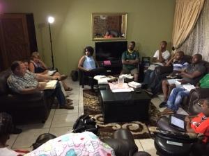David Nathan teaching at Pretoria fellowship