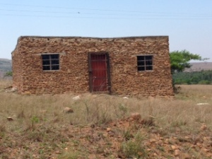 Shop on our dirt road, now vacated.