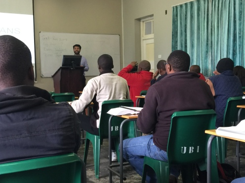 UBI lecture